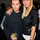 Kevin Connolly and Nicki Hilton