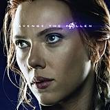 Black Widow's Hair in Avengers: Endgame