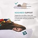 Sleepgram Adjustable Hypoallergenic Pillow