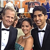 Olivia Munn and Dev Patel