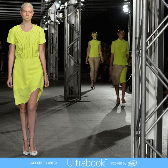 Pictures and Runway Review of  Magdalena Velevska Spring Summer 2012-2013 Mercedes Benz Fashion Week Australia Catwalk Show