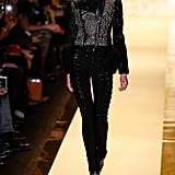 She Was Dark and Mysterious in Hervé Léger
