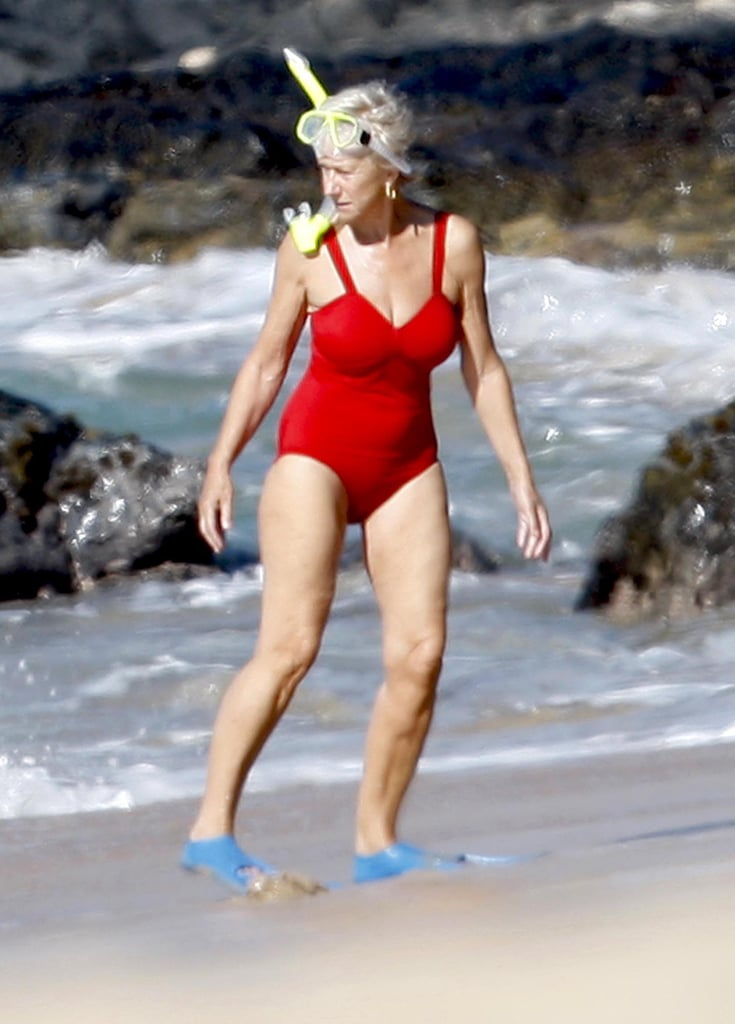 When She Looked Like a Freaking Bond Girl on the Beach