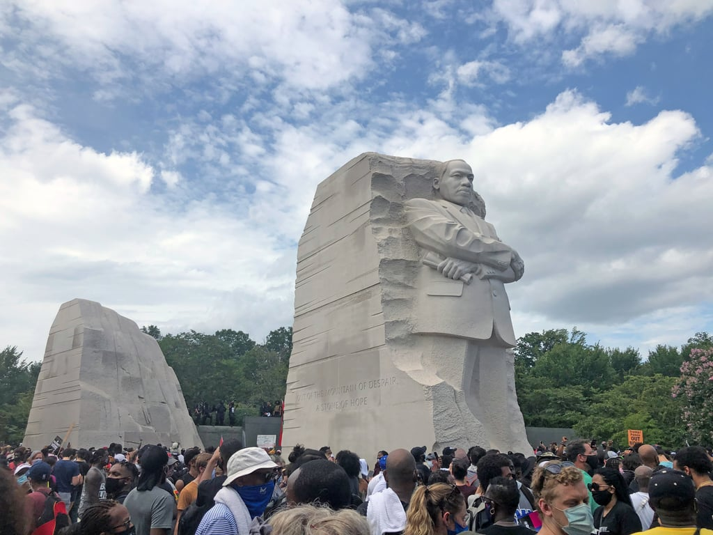 Pictures and Quotes From the 2020 March on Washington