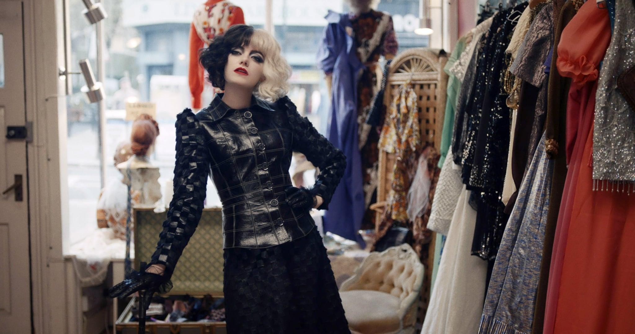 CRUELLA, Emma Stone as Cruella de Vil, 2021.  Disney+ / Courtesy Everett Collection