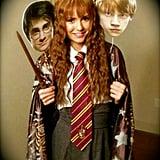 Nina Dobrev as Hermione Granger