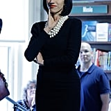 Huma Knows That a Sophisticated LBD Calls For White Beads