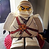 Busy Philipps showed off her finished Lego ninja cake.  Source: Instagram user busyphilipps