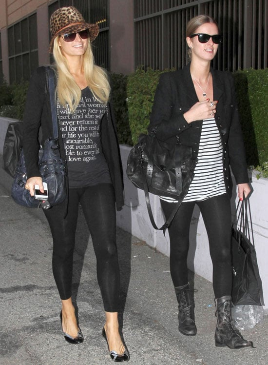 Pictures of Paris Hilton and Nicky Hilton