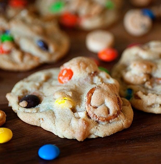 Snack Mix Cookies