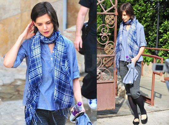 Photos of Katie Holmes at a Dance Class in La