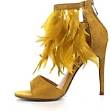 Cape Robbin Mustard Feather Heels