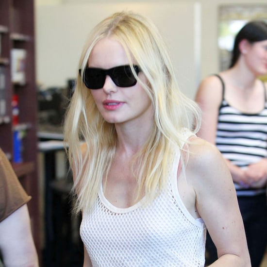 Pictures of Kate Bosworth Shopping at the Mac Store in LA