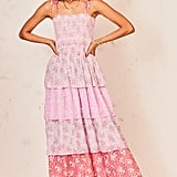 LoveShackFancy Caressa Tiered Maxi Dress
