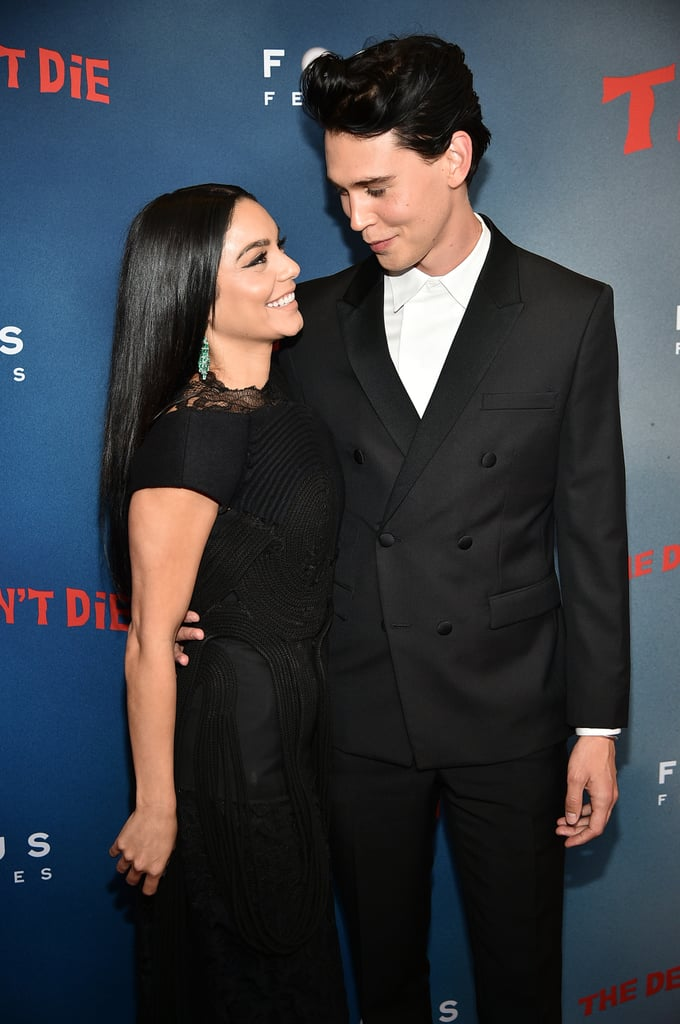 Vanessa and Austin couldn't hold back their smiles at the NYC premiere of The Dead Don't Die in June 2019.