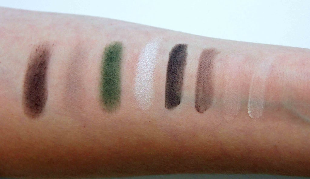 Kardashian Beauty Touch Tones Gradient Eye Color Set in Matte About You Swatched on Fair to Light Skin