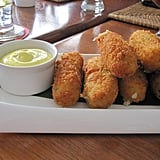 Other fried foods are popular on the island, too. These addictive croquettes were a mixture of potato and spinach.