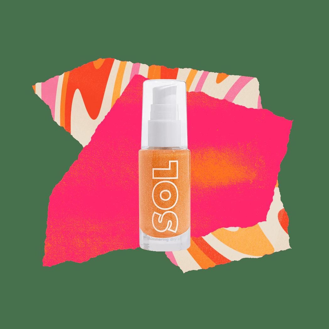 SOL Body Mini Shimmering Dry Oil