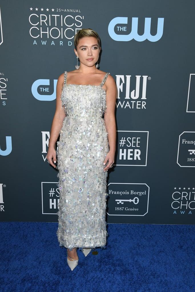 Florence Pugh at the 2020 Critics' Choice Awards