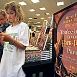 Then (Gen Y): Wait In Line for a New Book
