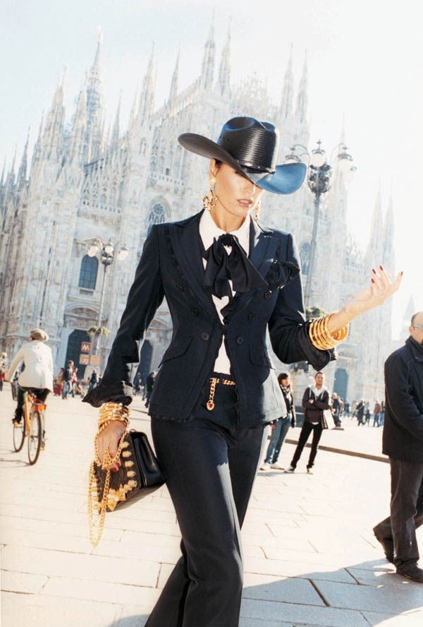 Yasmin Le Bon For Moschino