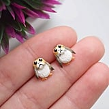 Sculpted Porg Earrings
