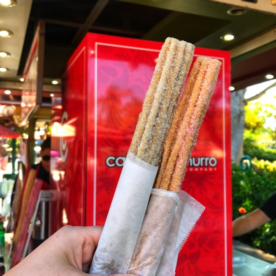 Grape Soda Churros at Downtown Disney
