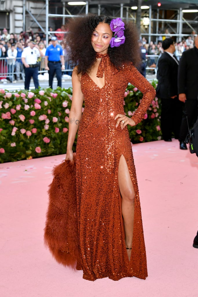 Zoe Saldana at Met Gala 2019 | POPSUGAR Fashion Photo 15