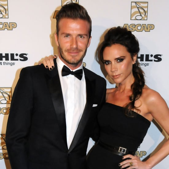 David and Victoria Beckham at the ASCAP Awards Pictures