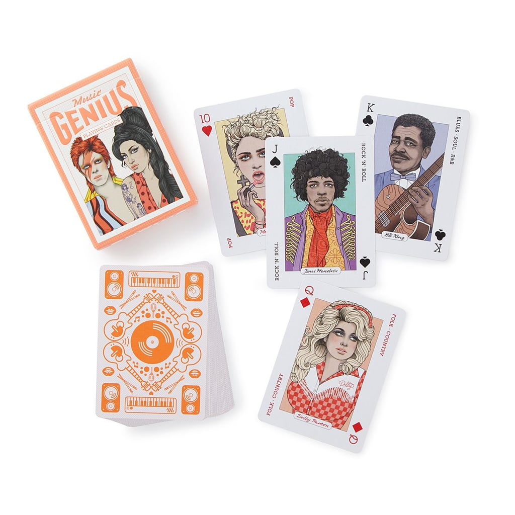Music Playing Cards