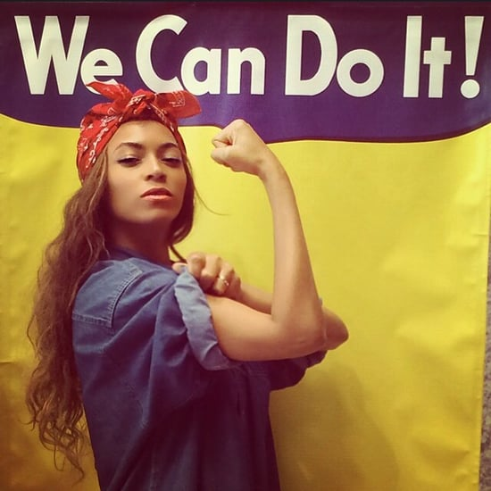 Beyonce Dressed Up as Rosie the Riveter on Instagram