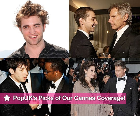 Pictures from Cannes Film Festival Including Robert Pattinson, Pregnant, Angelina Jolie, Brad Pitt Paris Hilton, Natalie Portman