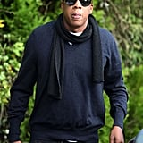 Photos of Jay Z in London