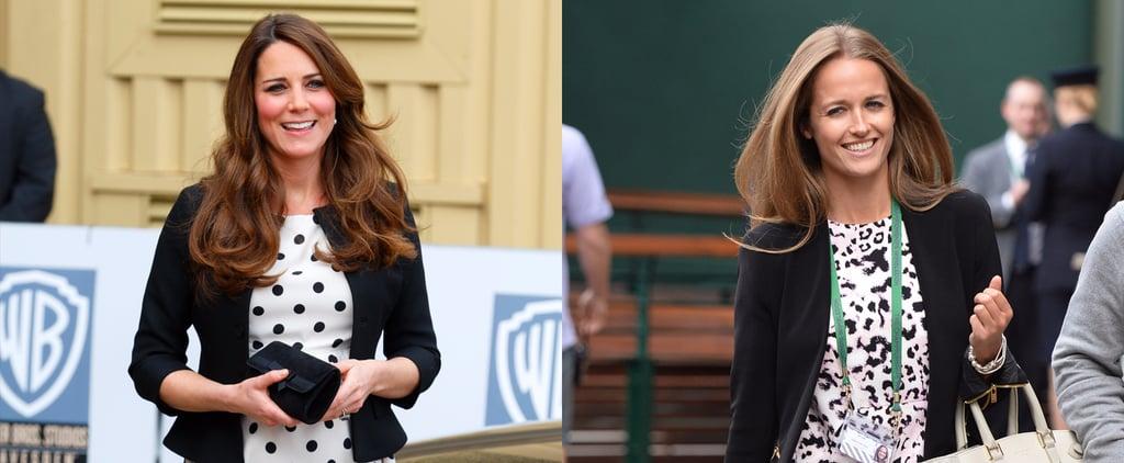 Kim Sears Dressing Like Kate Middleton
