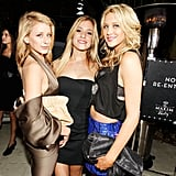 Lo Bosworth partied with Kristin Cavallari and Stephanie Pratt in Miami in February 2010.