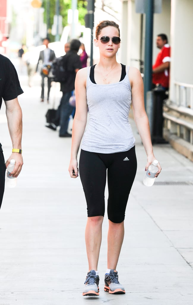 Jennifer Lawrence Leaving Gym in LA | Pictures