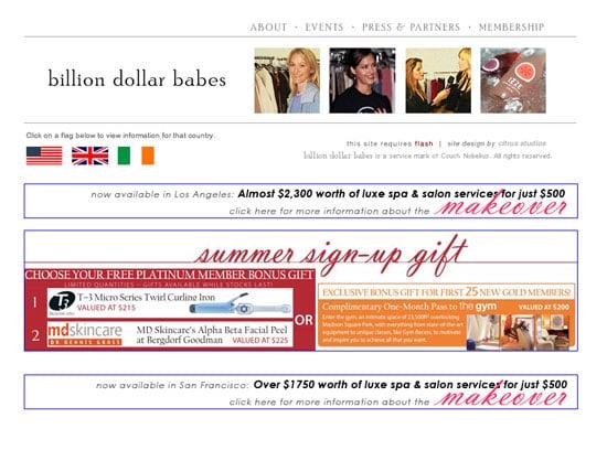 Fab Site: BillionDollarBabes.com