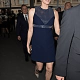 Princess Charlene of Monaco wearing Louis Vuitton.