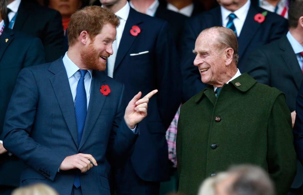 Prince Harry and Prince Philip Pictures