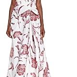 Carolina Herrera One-Shoulder Carnation Gown ($5,990)