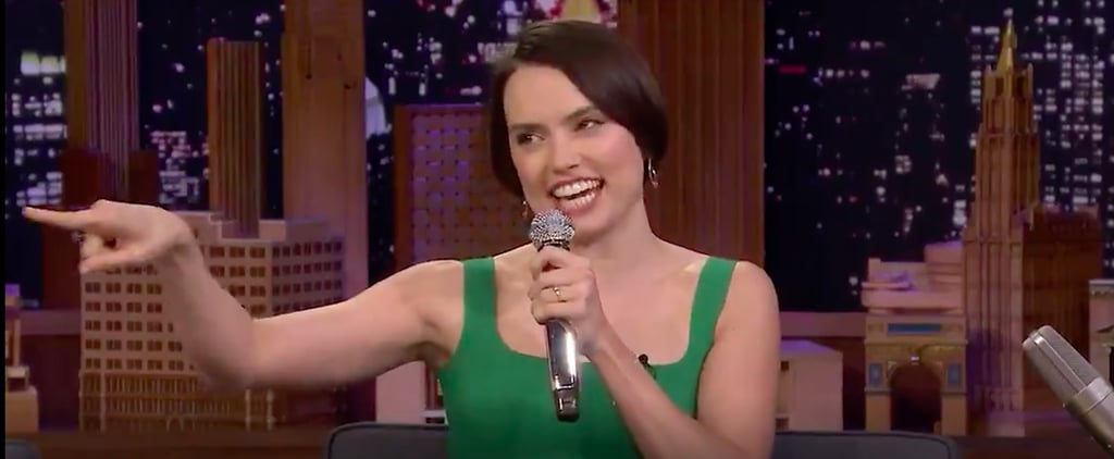Daisy Ridley Rapping on The Tonight Show June 2019 Video