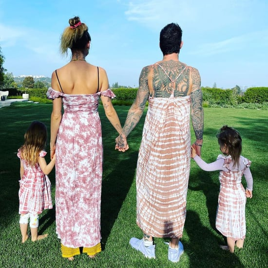 Adam Levine and Behati Prinsloo's Matching Dresses With Kids