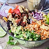 Vegan Southwest Shredded Jackfruit Salad