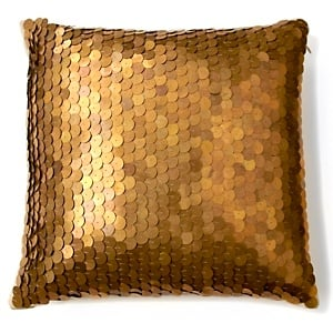 Nate Berkus Metallic Sequin Pillow ($50)