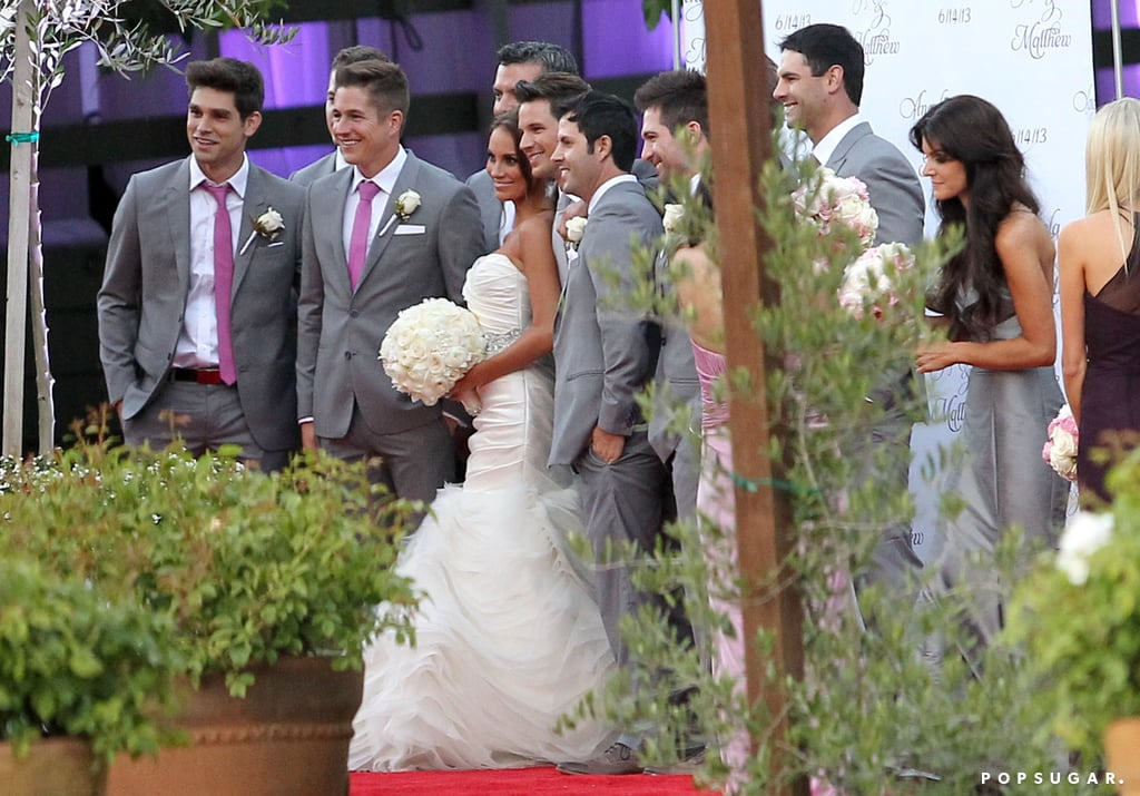 See Matt Lanter and Angela Stacy's Wedding Pictures!