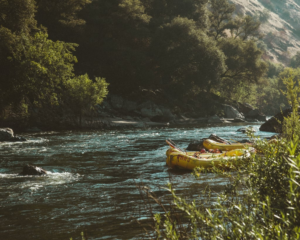 Take your own inner tube and go rafting!