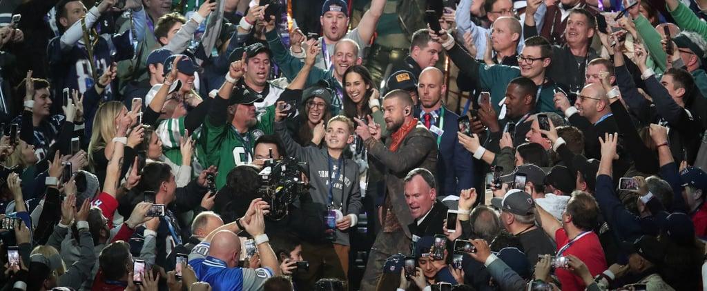 Super Bowl Selfie Kid on Good Morning America Feb. 2018