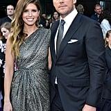 Chris Pratt and Katherine Schwarzenegger Avengers Premiere
