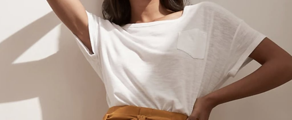 7 Perfect White Tees From Banana Republic