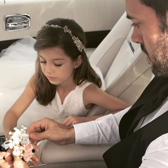 William Levy Takes His Daughter to a Dance May 2017